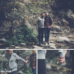 Eaton Canyon Engagement, Pasadena | Los Angeles Wedding Photography | Same-Sex Boho Rustic Nature Engagement