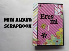 Mini Album Scrapbook Eres mi Numero..... Srapbook en español