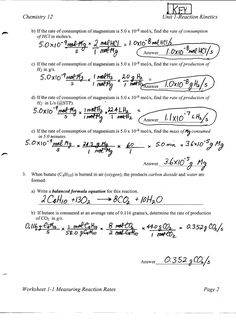 Mole Conversion Problems ~CHEMISTRY DISSECTED~Mole Map Worksheet ...