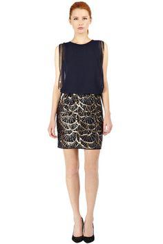 Embellished Skirt Dress