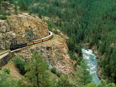 Train from Durango to Silverton CO. Vacation Destinations, Vacation Spots, Vacation Ideas, Vacations, Silverton Train, Train Wallpaper, Durango Colorado, Silverton Colorado, Colorado Trip
