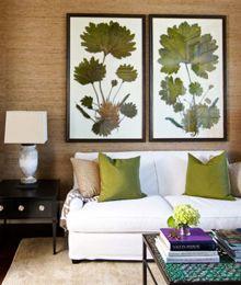 There are those giant botanical prints I love (erika powell).