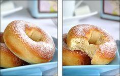 Beignets au four façon doughnuts - light gourmandises recettes Repas rigolos cuisine diversification Recipes Food diversification