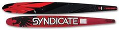 """Waterskis 71175: Ho Skis Syndicate A3 Slalom Water Ski 66"""" – Color: Red Black – New!!! -> BUY IT NOW ONLY: $390 on eBay!"""