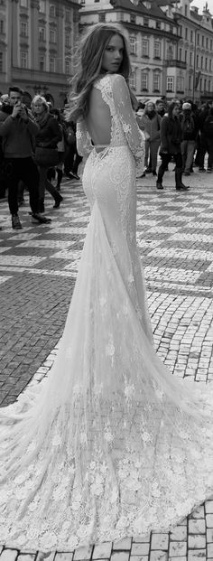 Wedding Dress by Berta Bridal Fall 2015 - Belle The Magazine