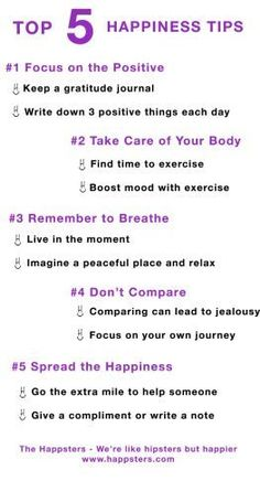 Happiness Tips