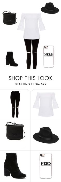 """""""Lunch date"""" by arcarmona-ac ❤ liked on Polyvore featuring New Look, Lafayette 148 New York, Lancaster, Lack of Color, Witchery and Casetify"""