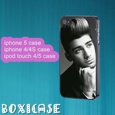 Zayn Malik,ONE DIRECTION--iphone 4 case,iphone 5 case,ipod touch 4 case,ipod touch 5 case,in plastic,silicone and black , white. by Boxicase, $14.95