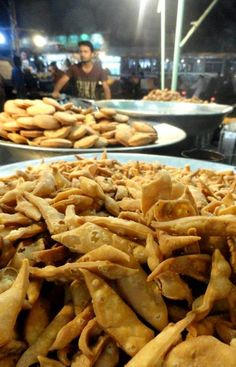 Namak Paray by Nadeem ul Hasan at Burns Road Karachi #food #pakistan