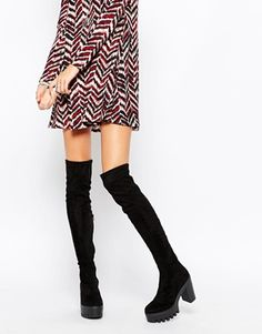 ASOS KA POW Over the Knee Boots