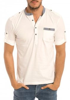 Camisetas de Six Valves para Hombre en Pausant.com Short Kurta For Men, Estilo Cool, Golf Outfit, Boys T Shirts, Men's Collection, Boutique Clothing, What To Wear, Polo Shirt, Menswear
