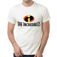 The Incredibles white syf for Medium White men T shirt -- Awesome products selected by Anna Churchill