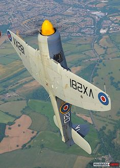 Sea Fury's aerial display (Image Credit: Luigino Caliaro)