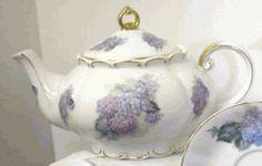 Hydrangea Princess Teapot   Product #: 613-146FK  Our Price: $53.97