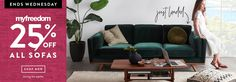 myfreedoom 25 off sofas