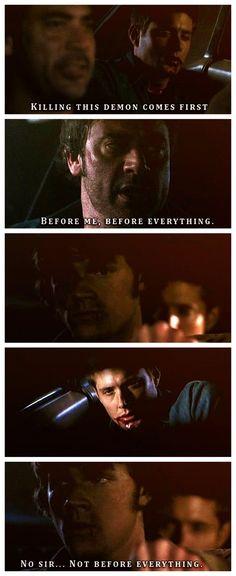 Not before Dean.