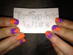Goosebumps nails by Trophy Wife Nail Art http://on.fb.me/L6meqx