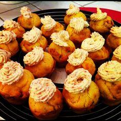 Cupcakes salés (tomates séchées, parmesan, chorizo)