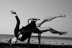 From the PETER LINDBERGH exhibition at David Fahey Gallery, Los Angeles