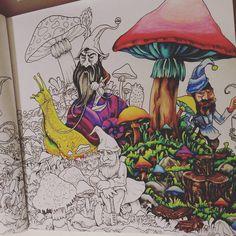 Coloring is fun <3 #kerbyrosanes #mythomorphia #coloringbook #prismacolor #shading #colorful