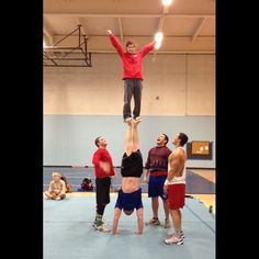 Nick and Jordan's new stunt. A foot-to-foot? This is amazing!