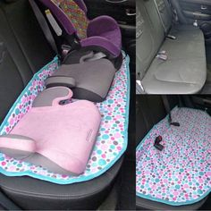 awesome DIY Back Seat Saver! See it here: www.smartschoolho......  Things to sew