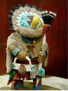 Traditional Hopi Maiden Kachina American Indian Hopi HandCarved