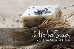 10 Herbal Soaps You Can Make at Home - I make ALL KINDS of soaps and skincare products (when I have supplies) Homemade Body Care, Homemade Beauty Products, Natural Cleaning Products, Natural Products, Body Products, Soap Making Recipes, Soap Recipes, Recipies, Lotion Bars