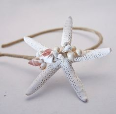 starfish and shells headbands for women Hair Accessories For Women, Wedding Accessories, Rosette Headband, Headbands For Women, Beach Hair, Headband Hairstyles, Girly Things, Girly Stuff, Pure Products