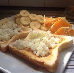 Breakfast or lunch: egg whites on toast, with fruit on the side.   You can change in by putting tomatoes on top or avocado under the egg whites, it's completely Upto you.  Enjoy