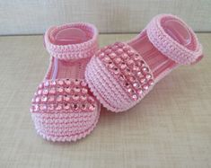 Emily sandal with crystals