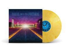 Empaque con discos de vinilo de Back To The Future