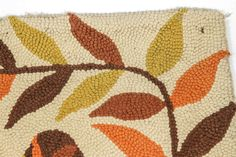 Evelyn and Jerome Ackerman Hand Hooked Rug circa 1960 image 8