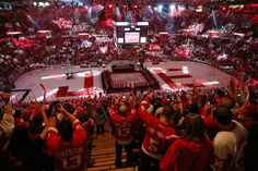 Detroit Red Wings fans cheer during the closing ceremony after the final game at Joe Louis Arena in Detroit, on Sunday, April 9, 2017. (Mike Mulholland | MLive.com) Detroit Sports, Detroit Lions, Detroit Vs Everybody, Joe Louis Arena, The Joe, Detroit Red Wings, Hockey, Michigan, Cheer