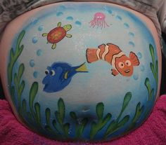 Amazing Paintings on Pregnant Bellies.   LIKE our page for more great finds  http://facebook.com/imaginethatphotog