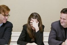 Aaron Sorkin, Matthew Perry & Amanda Peet