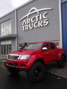 AT38 by Arctic Trucks (modified Toyota Hilux)