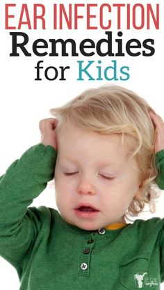 Get relief for your child with an ear infection or ear ache with these items you can have in your home. Save a doctors visit by trying these methods first. Toddler Ear Infection, Ear Infection Relief, Ear Infection Home Remedies, Ear Infections In Toddlers, Home Remedies Ear Ache, Oils For Ear Infection, Sinus Infection, Natural Cough Remedies, Natural Cures
