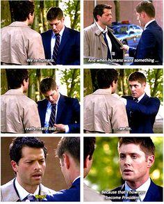 Dean Winchester, everyone :)