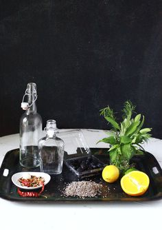 Small Measures: Infused Vinegars | Design*Sponge