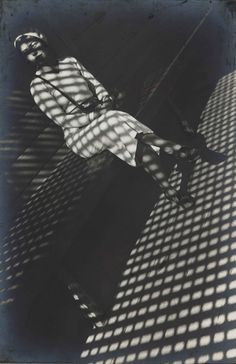 A work by Alexander Rodchenko - great angle, love the diagonal lines. And love what the shadow does for this picture!