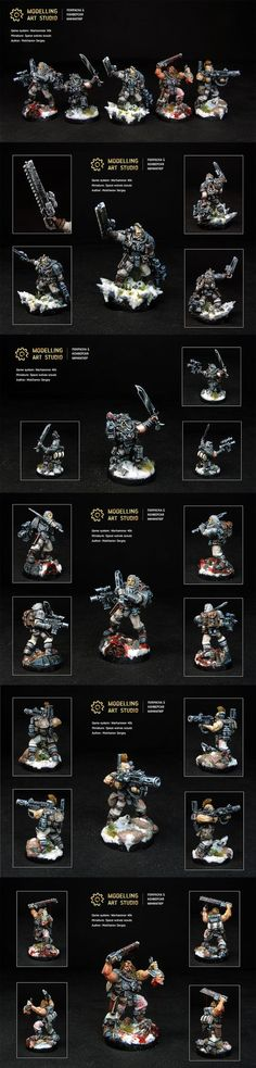 Space wolves scouts: