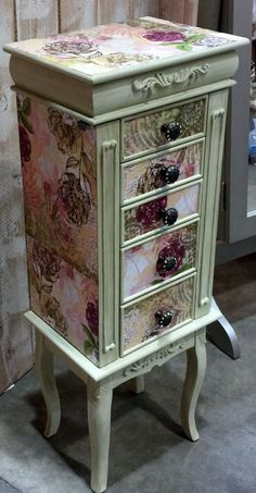 Repurposed Jewelry Armoire Custom Made To Order