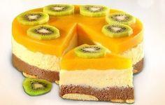 Торт без выпечки манный