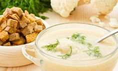 Zupa kalafiorowa z mascarpone