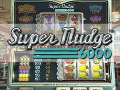 Speel Super Nudge 6000 speelautomaat. Dit is een 3D video gokkast met een bonus! Dit spel heeft klassieke symbolen: appelsienen, citroenen, druiven, meloenen, bellen en dollar tekens. Maar deze is geen klassieke gokkast. De gokkast is gesplitst in twee delen. Het bodem gedeelte is waar het bodem gedeelte het basisspel bevat. Bij winst heb je 2 mogelijkheden: je kunt de winst ontvangen of je kunt verder gaan in het bovenscherm.