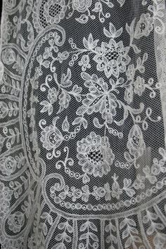 Limerick Lace. Extremely few people left who can still make this famous Irish lace.
