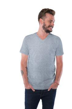 camiseta Basic V grey