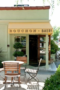 Yountville, CA near Napa Valley. I have the Thomas Keller's book ad hoc at home... it has the most AMAZING brownie recipe EVER!