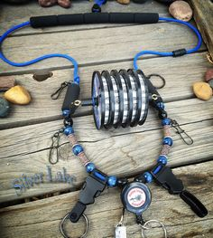 All New Silver Lake Fly Fishing Lanyard by by GoldenTroutLanyards